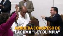 """Aprueba Congreso de la CDMX """"Ley Olimpia"""""""