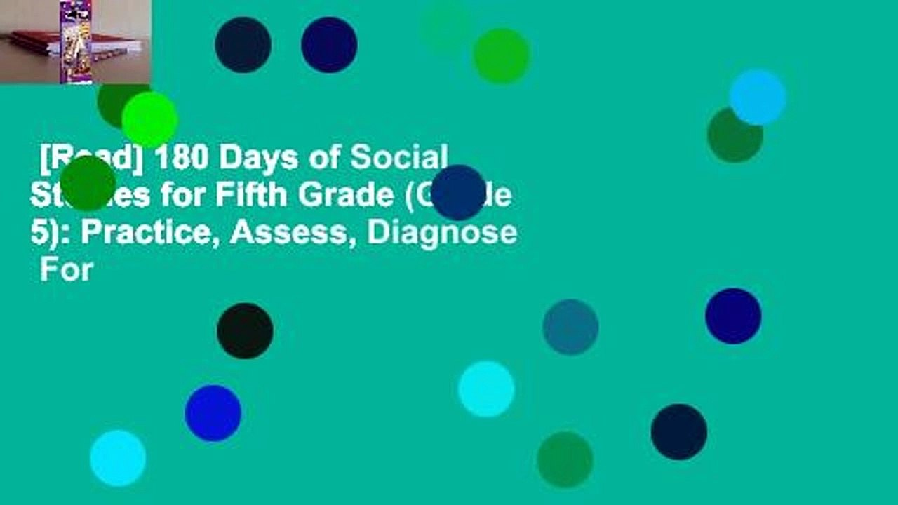 Read 180 Days Of Social Studies For Fifth Grade Grade 5 Practice Assess Diagnose For