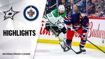 NHL Highlights | Stars @ Jets 12/03/19