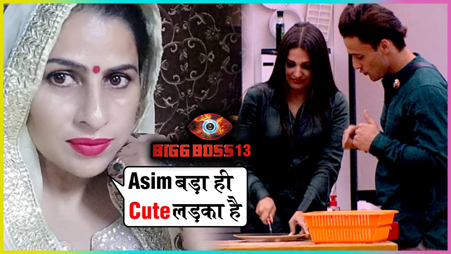 Himanshi Khurana's Mom PRAISES Bigg Boss Contestant Asim Riaz   Bigg Boss 13