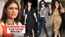 ANGRY Kajol Calls Other Actresses BRAINLESS For Their Airport Looks