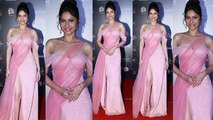 Ankita Lokhande Looks Georgeous in Pink Gown at  Filmfare Glamour and Style Awards | Boldsky