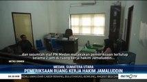 Petinggi PN Medan Periksa Ruang Kerja Hakim Jamaluddin