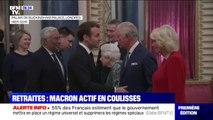 Réforme des retraites: discret en public, Emmanuel Macron se montre très actif en coulisses