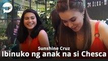 Sunshine Cruz, ibinuko ng anak
