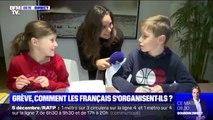 Cette famille parisienne s'organise pour la grève du 5 décembre