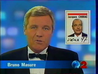 France 2 - 31 Décembre 1996 - JT 20H (Bruno Masure  présente ses voeux)
