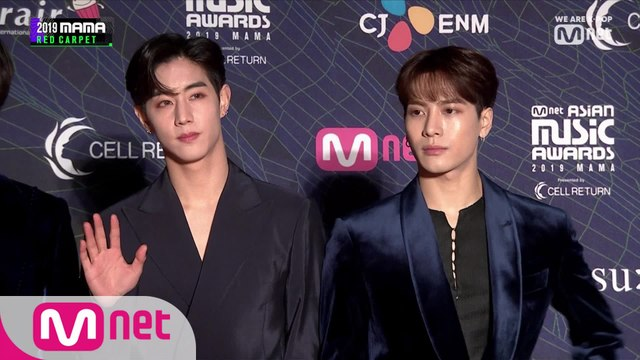 [2019 MAMA] Red Carpet with GOT7(갓세븐)