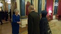 Cumhurbaşkanı Erdoğan, İngiltere Kraliçesi tarafından verilen resepsiyona katıldı