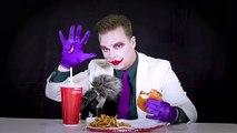 Joker ASMR Food edition - Eating Noises, Crinkling, Soft Voice, Laughter (PARODY)