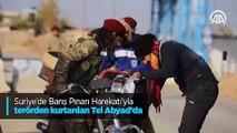 Tel Abyad'ın güvenliği Türkiye'nin eğittiği askeri polislere emanet