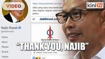 Tony Pua: Najib helped DAP promote job ad