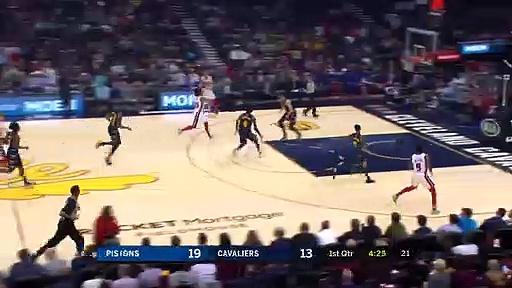 Detroit Pistons 127 - 94 Cleveland Cavaliers