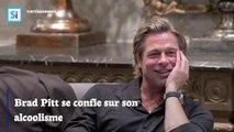 Brad Pitt se confie sur son alcoolisme