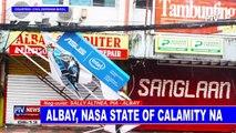 Albay, nasa state of calamity na