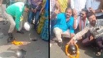 VIDEO:  गुजरात में CM का ऐलान- शहरों में बिना हेलमेट बाइक चलाओ, नहीं काटेंगे चालान