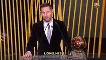 Lionel Messi Wins His Sixth Ballondor!