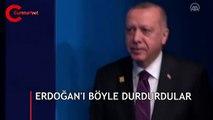 Erdoğan'ı böyle durdurdular