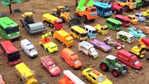 Construction Vehicles Build Bridge Blocks Toy For Kids 2019