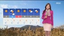 [날씨] 찬바람 쌩쌩, 체감 영하 10도…서해안 1cm 안팎 눈