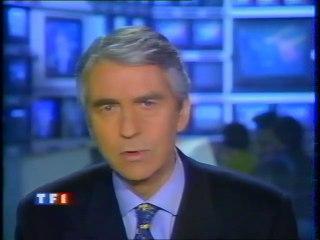 TF1 - 11 Janvier 1996 - Jingle pub, début JT 20H (Jean-Claude Narcy)