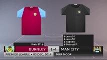 Match Review: Burnley vs Man City on 03/12/2019