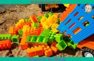 Build Bridge Blocks Toys For Kids Construction Vehicles Toys for Children 2019