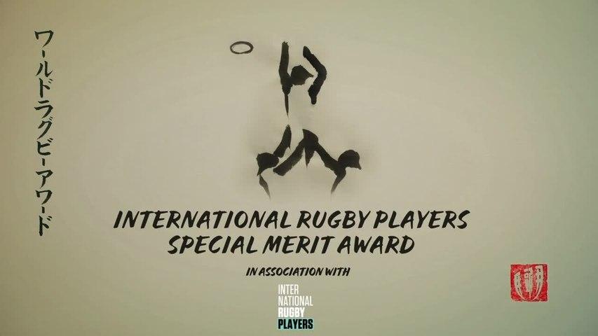 Jamie Heaslip wins IRP Special Merit Award