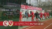 Starker Wollert machtlos! | Lichtenberg 47 - Energie Cottbus (Regionalliga Nordost)