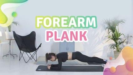 Forearm plank - Step to Health