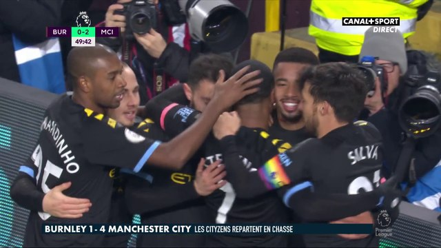 Le résumé de Burnley / Manchester City