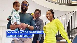 Dwyane Wade defiende a su hijo de los 'haters'
