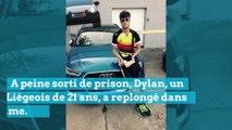 Dylan prend 6 ans pour vol: il se vantait sur Facebook !