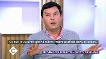 """Réforme des retraites : l'économiste Thomas Piketty condamne """"le refus du débat"""" du gouvernement"""