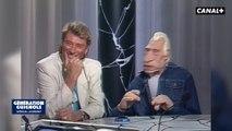 Johnny Hallyday et sa marionnette - Les Guignols - Canal+