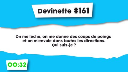 Devinette #161 : Voyageur