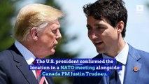Trump Says 2020 G-7 Summit Will Be at Camp David