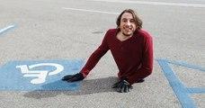 Né sans jambes, Rowdy Burton vit pourtant tout à fait normalement, une vraie source d'inspiration