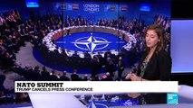 Donald Trump cancels NATO summit press conference