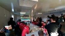 Coupe de Belgique: Rebecq se prépare avant de défier le Standard
