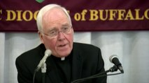Pope accepts resignation of NY bishop accused of abuse cover-up