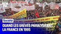 Quand les grèves paralysaient la France en 1995