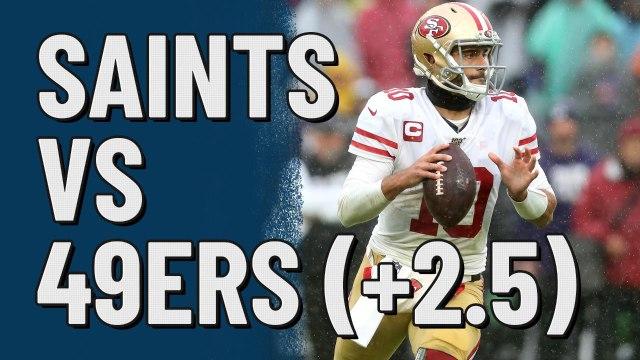 Saints vs 49ers (+2.5)   Action Network