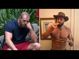 James Haskell makes up for lost calories on I'm A Celebrity as he celebrates with pizza