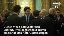 Trudeau & Co lästern über Trump - US-Präsident keilt zurück