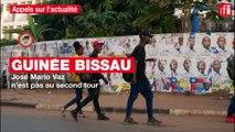 Guinée Bissau : José Mario Vaz n'est pas au second tour