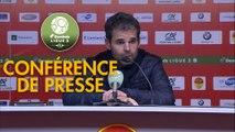 Conférence de presse US Orléans - FC Lorient (0-4) : Didier OLLE-NICOLLE (USO) - Christophe PELISSIER (FCL) - 2019/2020