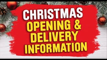 christmas opening times at Dudley Spice Indian Takeaway