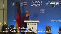 """Merkel: Nato-Gipfel war ein """"gutes Treffen"""""""