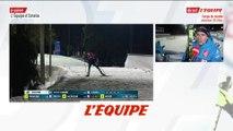 Fillon Maillet «Je me suis battu toute la course» - Biathlon - CM (H)